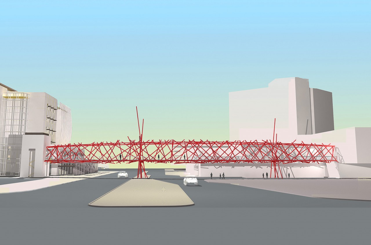Pedestrian Bridge, Las Vegas, Nevada / image 4