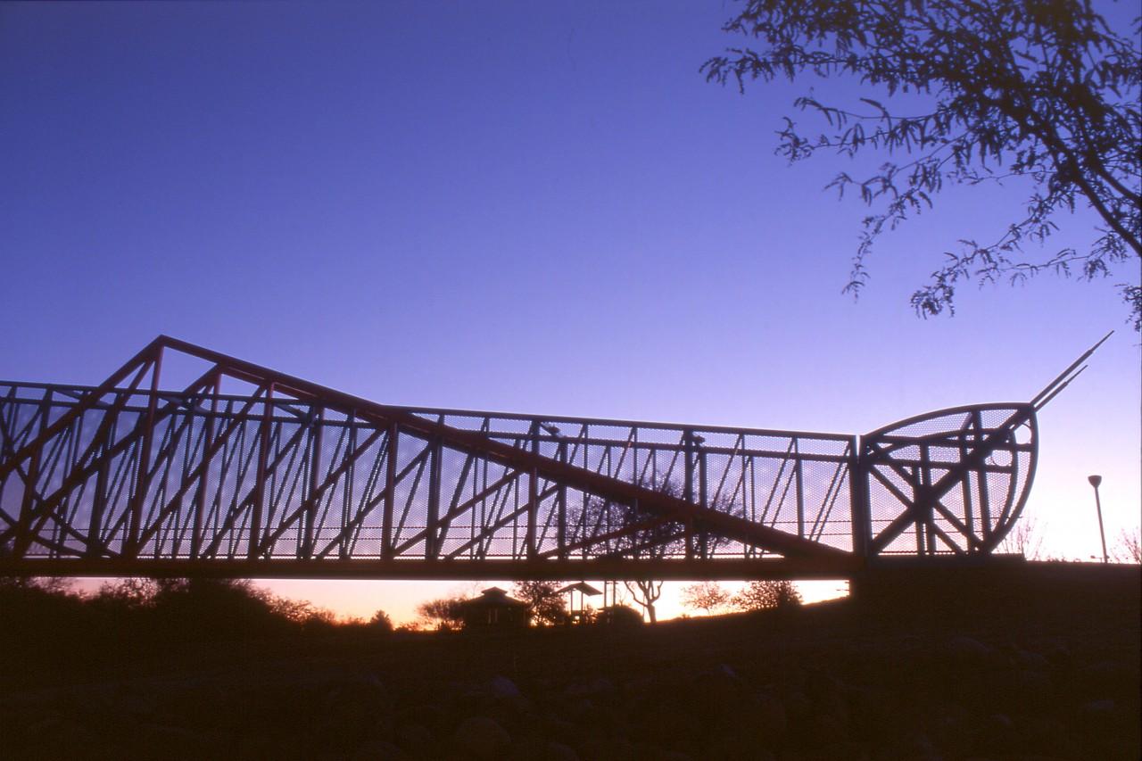 Grasshopper Pedestrian Bridge, Pheonix, Arizona / image 3
