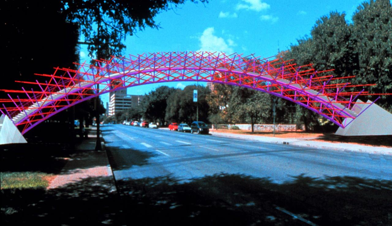 San Antonio Pedestrian Bridge, San Antonio, Texas / image 1