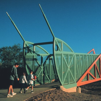 Grasshopper Pedestrian Bridge, Pheonix, Arizona