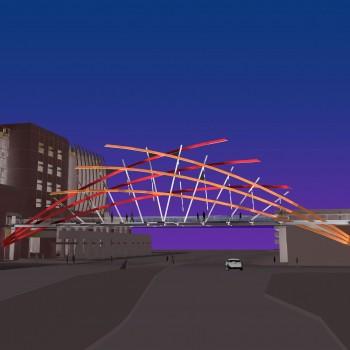 Pedestrian Bridge, Las Vegas, Nevada