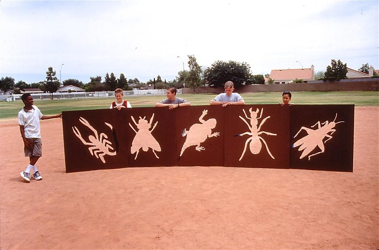 Grasshopper Pedestrian Bridge, Pheonix, Arizona / image 6